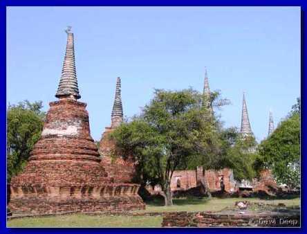 Ayuthaya - kinh đô cổ của Thái