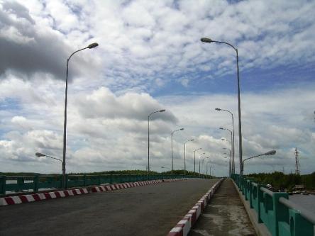 Cầu Dần Xây trên đường đi Cần Giờ