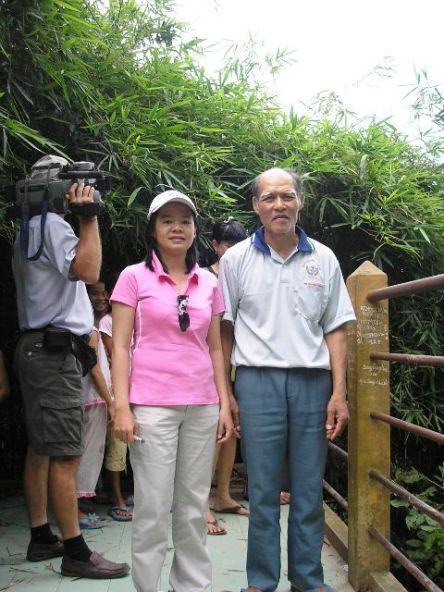 Ông Nguyễn Ngọc Thuyền, chủ vườn cò Bằng Lăng