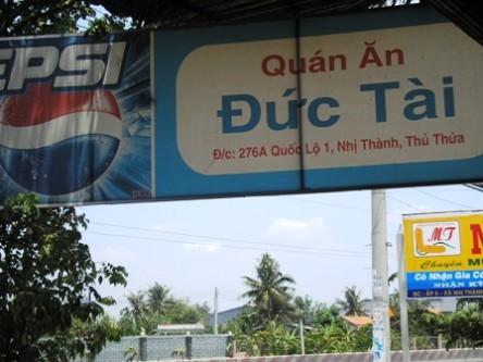 Quán ăn ngon ở Thủ Thừa