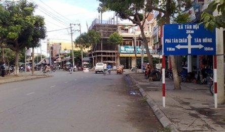 Đi phà Tân Châu 11km