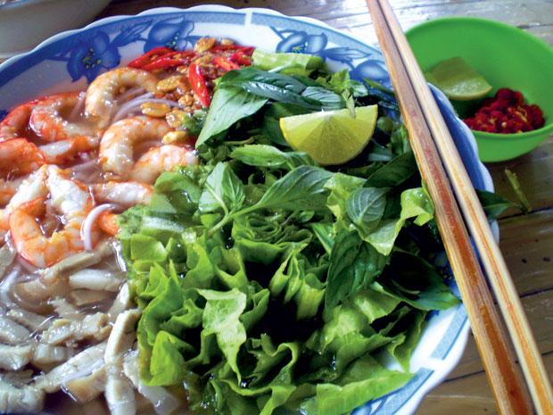 Món ngon ở Tiền Giang: Bún gỏi già Mỹ Tho