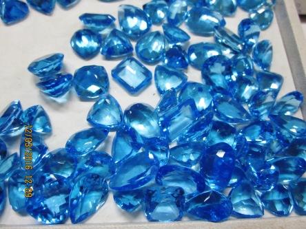 Topaz xanh dương