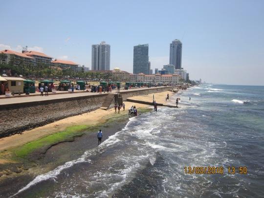 Công viên biển Galle Face ở Colombo