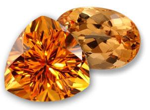 Thạch anh vàng trang sức