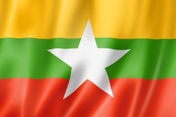 Cờ Myanmar