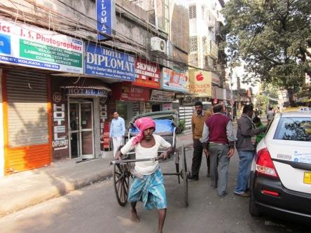 Xe người kéo ở Kolkata