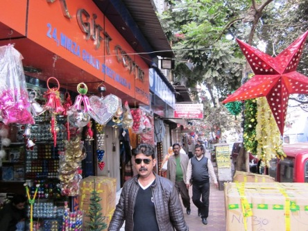 Đường phố Kolkata, vừa sau Noel