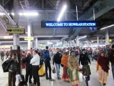 Nhà ga xe lửa Howrah ở Kolkata