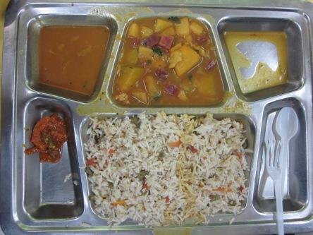Bữa cơm chuẩn Ấn