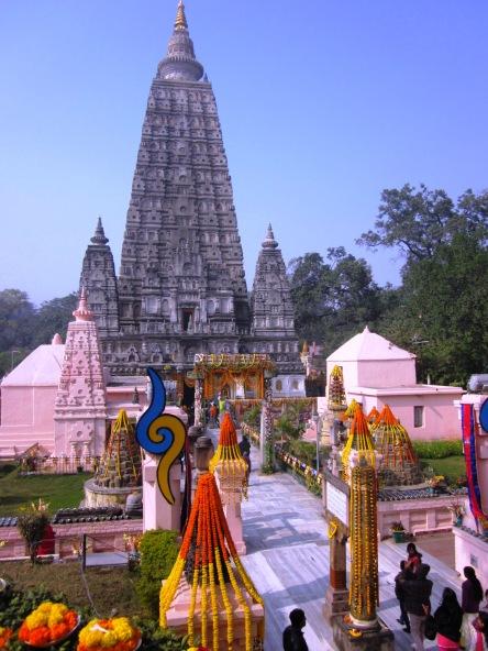 Mahabodhi Temple ở Bồ Đề Đạo Tràng
