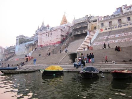 Các Ghat (bến nước) ở Sông Hằng ở Varanasi