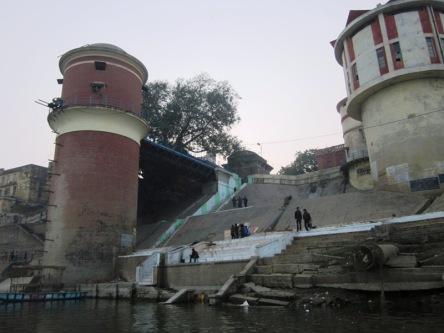 Các Ghat (bến nước) ở Sông Hằng