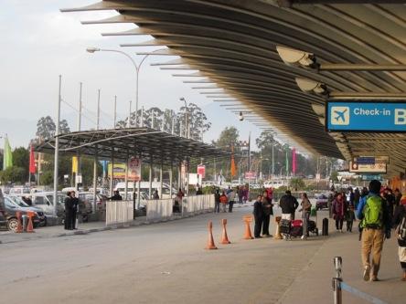 Sân bayTribhuvan ở Kathmandu - Nepal
