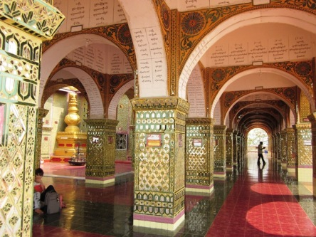Kiến trúc của chùa trên Đồi Mandalay